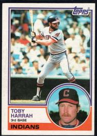 1983 Topps #480 Toby Harrah VG Cleveland Indians