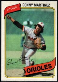 1980 Topps #10 Dennis Martinez VG Baltimore Orioles