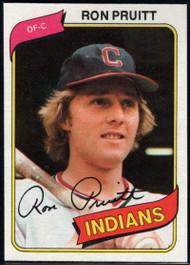 1980 Topps #13 Ron Pruitt VG Cleveland Indians