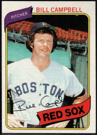 1980 Topps #15 Bill Campbell VG Boston Red Sox