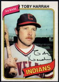 1980 Topps #636 Toby Harrah VG Cleveland Indians