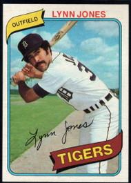 1980 Topps #123 Lynn Jones VG RC Rookie Detroit Tigers