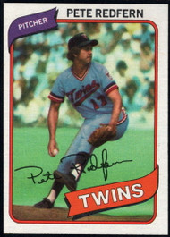 1980 Topps #403 Pete Redfern DP VG Minnesota Twins