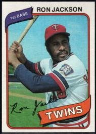 1980 Topps #18 Ron Jackson VG Minnesota Twins