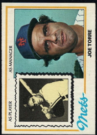 1978 Topps #109 Joe Torre MG COND New York Mets