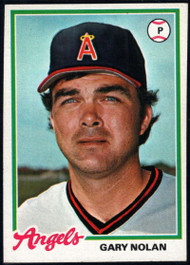 1978 Topps #115 Gary Nolan COND California Angels