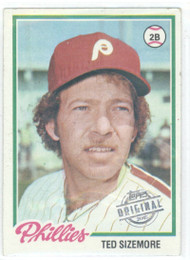 1978 Topps #136 Ted Sizemore COND Philadelphia Phillies