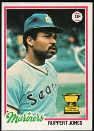 1978 Topps #141 Ruppert Jones COND Seattle Mariners