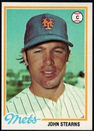 1978 Topps #334 John Stearns COND New York Mets