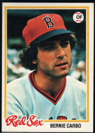 1978 Topps #524 Bernie Carbo COND Boston Red Sox
