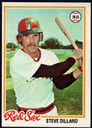 1978 Topps #597 Steve Dillard COND Boston Red Sox