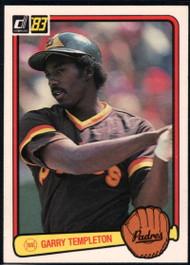 1983 Donruss #145 Garry Templeton VG San Diego Padres