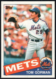 1985 Topps #53 Tom Gorman VG New York Mets
