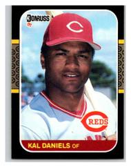 1987 Donruss #142 Kal Daniels VG Cincinnati Reds