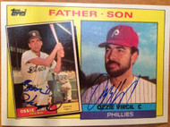 Ossie/Ozzie Virgil Autographed 1985 Topps #143 VERY RARE