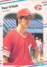 1988 Fleer Update #85 Paul O'Neill VG Cincinnati Reds