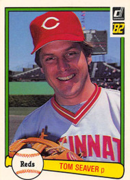 1982 Donruss #148 Tom Seaver VG Cincinnati Reds