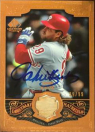 John Kruk Autographed 2006 SP Legendary Cuts - Legendary Materials Bronze LE/99