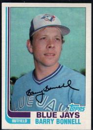 1982 Topps #99 Barry Bonnell VG Toronto Blue Jays
