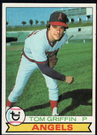 1979 Topps #291 Tom Griffin VG California Angels