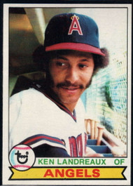 1979 Topps #619 Ken Landreaux VG RC Rookie California Angels