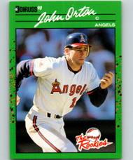 1990 Donruss Rookies #54 John Orton VG RC Rookie California Angels