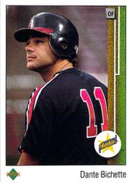1989 Upper Deck #24 Dante Bichette VG RC Rookie California Angels