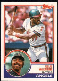 1983 Topps Traded #120T Ellis Valentine VG California Angels