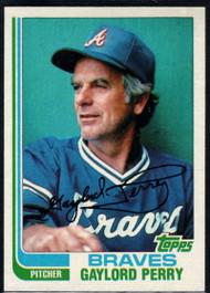 1982 Topps #115 Gaylord Perry VG Atlanta Braves