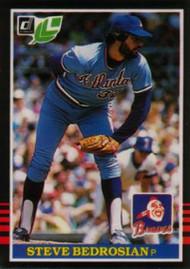 1985 Donruss/Leaf #51 Steve Bedrosian VG Atlanta Braves