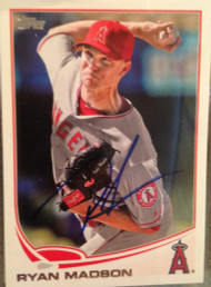 Ryan Madson Autographed 2013 Topps #404