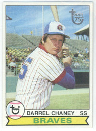 1979 Topps #184 Darrel Chaney VG Atlanta Braves