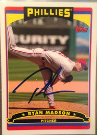Ryan Madson Autographed 2006 Topps Phillies Fan Appreciation Day SGA #7