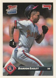 1993 Donruss #457 Damion Easley RR VG California Angels