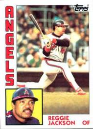 1984 Topps #100 Reggie Jackson VG California Angels