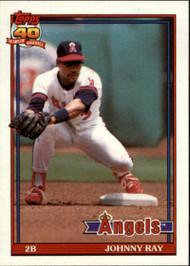 1991 Topps #273 Johnny Ray VG California Angels