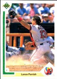 1991 Upper Deck #552 Lance Parrish VG California Angels