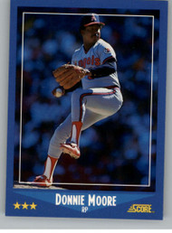 1988 Score #195 Donnie Moore VG California Angels