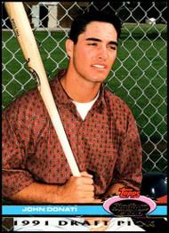 1992 Stadium Club Dome #37 John Donati VG RC Rookie California Angels
