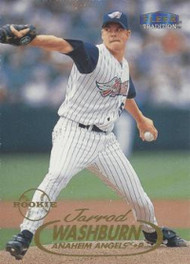1998 Fleer Update #U79 Jarrod Washburn VG Anaheim Angels