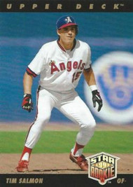 1993 Upper Deck #25 Tim Salmon VG California Angels
