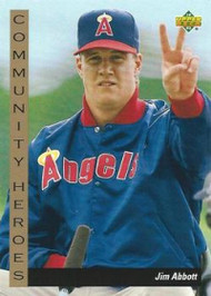 1993 Upper Deck #31 Jim Abbott VG California Angels