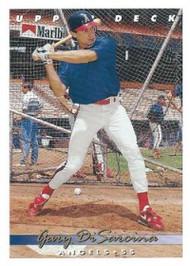 1993 Upper Deck #230 Gary DiSarcina VG California Angels