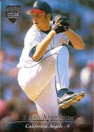 1995 Upper Deck Electric Diamond #18 Brian Anderson VG California Angels