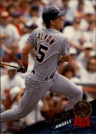 1993 Leaf #445 Tim Salmon VG California Angels