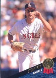 1993 Leaf #488 Steve Frey VG California Angels