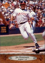 1996 Upper Deck #30 Jim Edmonds VG California Angels