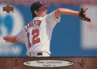 1996 Upper Deck #28 Mark Langston VG California Angels