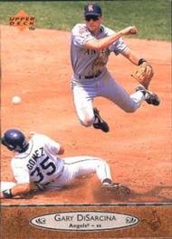 1996 Upper Deck #27 Gary DiSarcina VG California Angels
