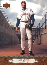 1996 Upper Deck #288 Lee Smith VG California Angels